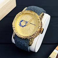 Часы мужские кварцевые MegaLith 8041M, цвет золото с серым ( код: IBW353YS )