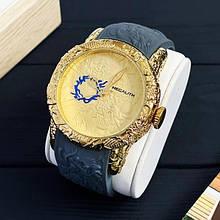 Годинники чоловічі кварцові MegaLith 8041M, колір золото з сірим ( код: IBW353YS )
