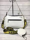 Женская сумка Zara (Зара), белая ( код: IBG214O ), фото 4