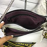 Женская сумка Zara (Зара), белая ( код: IBG214O ), фото 7