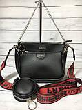 Женская сумка Zara (Зара), черная ( код: IBG214B ), фото 2