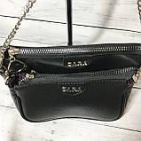 Женская сумка Zara (Зара), черная ( код: IBG214B ), фото 5