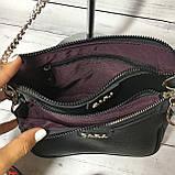 Женская сумка Zara (Зара), черная ( код: IBG214B ), фото 6