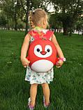 Рюкзак детский маленький, пингвин, цвет красный ( код: IBD003R ), фото 9