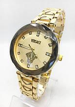 Часы женские наручные Versace (Версаче), золотистые ( код: IBW410YY )