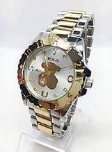 Часы женские наручные в стиле TOUS (Тоус), комбинированные ( код: IBW416YS1 )