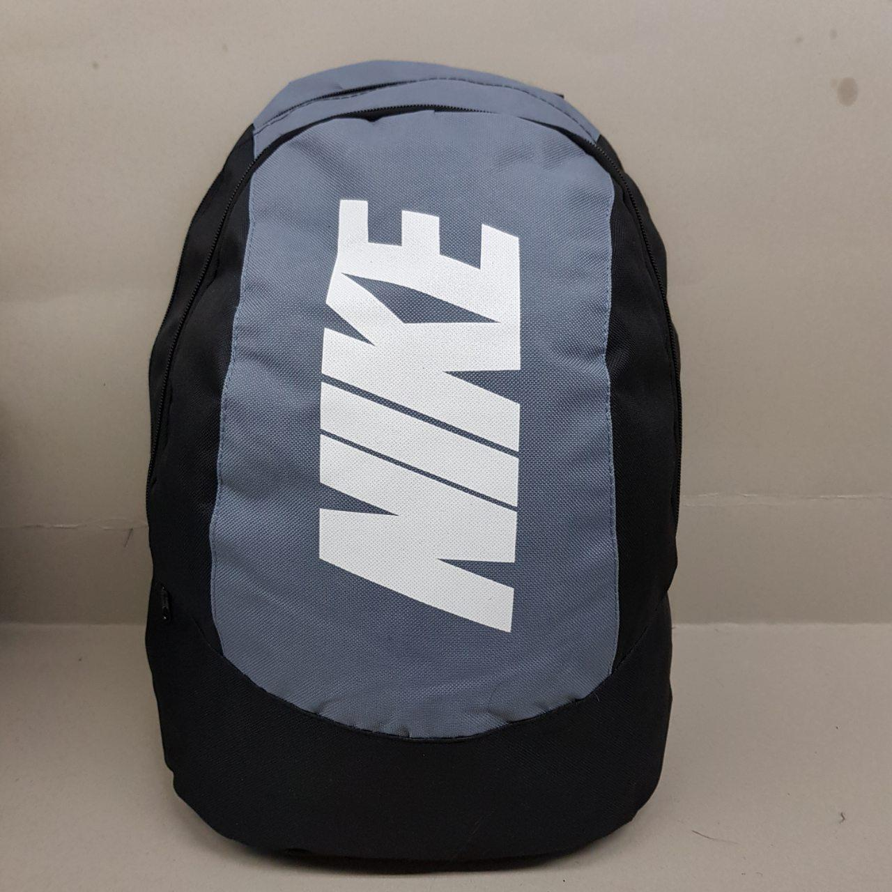 Спортивный рюкзак Nike (Найк), серый цвет ( код: IBR075S )