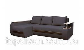 """Кутовий диван """"Гаспар Преміум"""". Ортопедичний, незалежний пружинний блок (тканина 10)"""