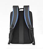 "Рюкзак противоударный для ноутбука 15,6"" с USB, темно-серый цвет ( код: IBN010SS ), фото 2"