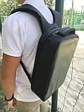 """Рюкзак городской  для ноутбука 15,6"""" с LED экраном и USB, черный цвет ( код: IBR117B ), фото 3"""