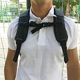 """Рюкзак городской  для ноутбука 15,6"""" с LED экраном и USB, черный цвет ( код: IBR117B ), фото 4"""