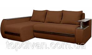 """Угловой диван """"Гаспаро Премиум"""". Ортопедический, независимый пружинный блок (ткань 28)"""