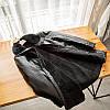 Полу-пальто зимнее кожаное мужское на меху, фото 5