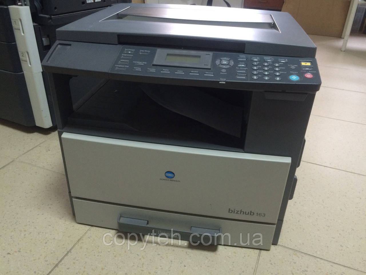 KONICA MINOLTA BIZHUB 163 PRINTER TELECHARGER PILOTE