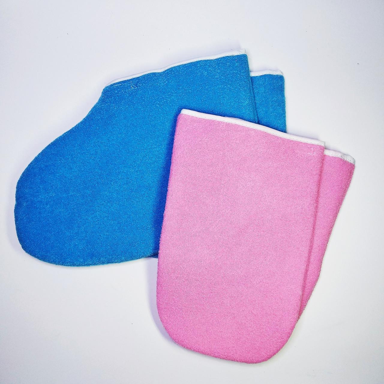 Варежки и носки  многоразовые для парафинотерапии
