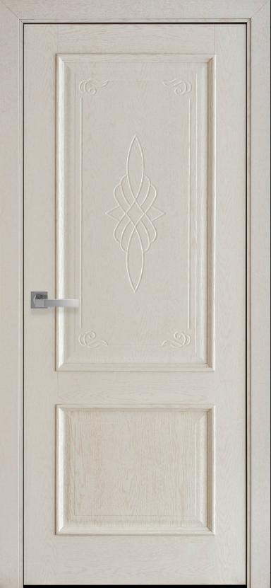 """Дверь межкомнатная глухая с гравировкой новый стиль Интера """"Вилла Gr1"""" 60,70,80,90 см патина"""