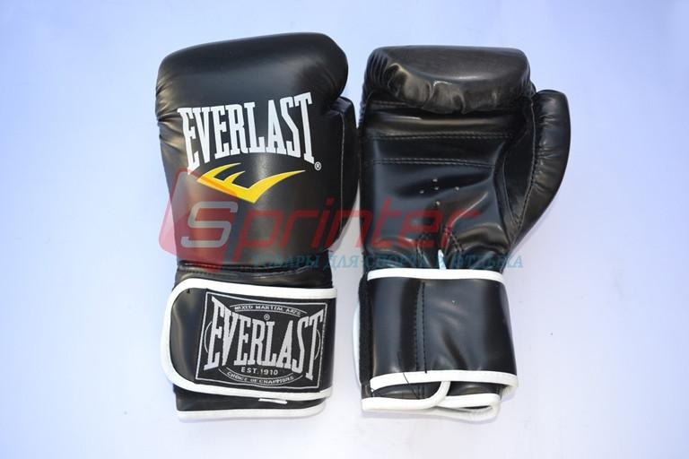 Перчатки боксерские  EVERLAST 10 oz черные QJ