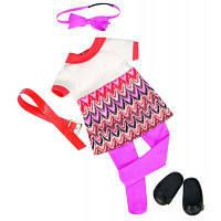 Аксессуар к кукле Our Generation Платье с принтом (BD60014Z)