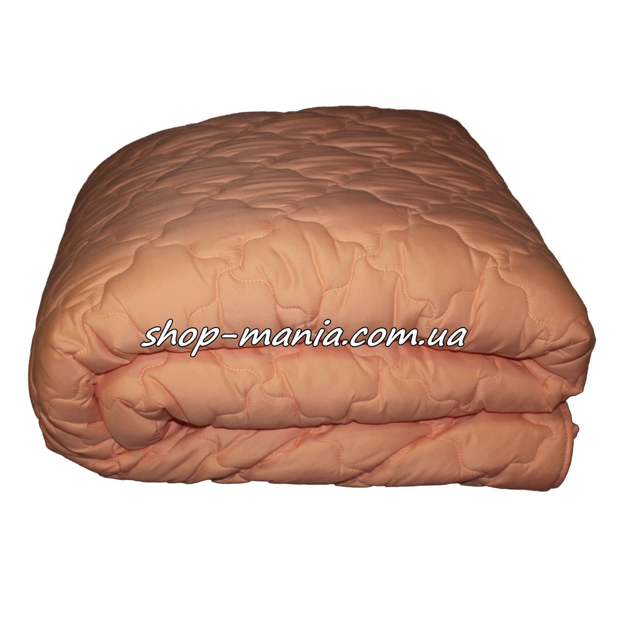 Одеяло полуторное стёганное ОДА 4 сезона 2в1 летнее + демисезонное 155х210 SM 8104-1 ODA 4 season orange