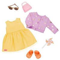 Аксессуар к кукле Our Generation Набор одежды Летнее платье (BD30341Z)