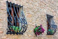 Кованые решетки на окна металлическая решетка на окно