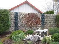Габионный забор для дома