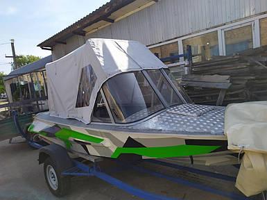 Тент палатка на лодку