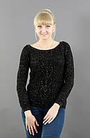Свитер женский -Материал: шерсть 30%, акрил 70%