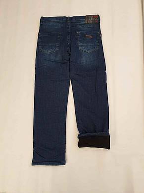 Теплые джинсы A-yugi на подростков 152 роста, фото 2