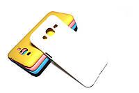 Пластиковый чехол для Samsung Galaxy J2 Duos J200 белый, фото 1