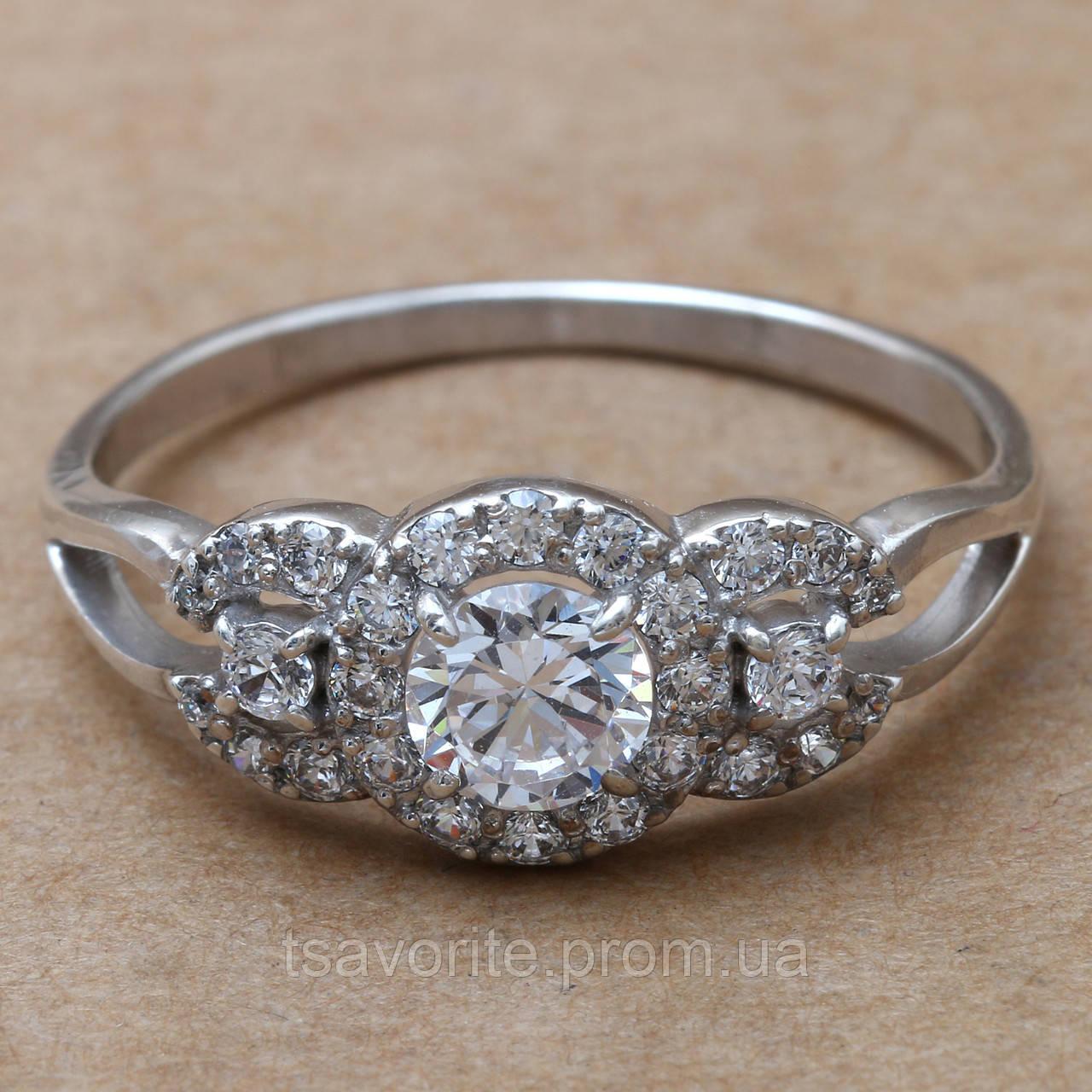 Серебряное кольцо 107КЮ