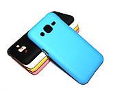 Пластиковий чохол для Samsung Galaxy J2 Duos J200 блакитний, фото 1