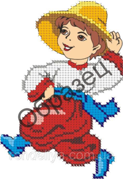 Схема для вышивки бисером «Козак»