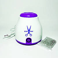 Стерилізатор кварцовий для інструментів з кульками в комплекті, фіолетовий