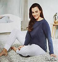 Красивая женская пижама (домашний костюм) размер 46