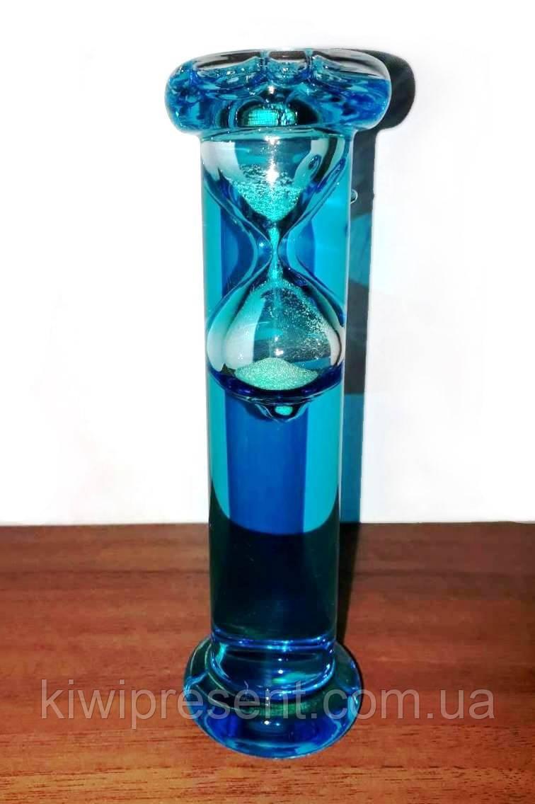 Часы песочные плавающие (15 см) в колбе Галилея с водой