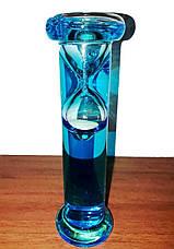 Часы песочные плавающие (15 см) в колбе Галилея с водой, фото 2