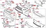 Подкрыльник передний правый киа Соул 2, KIA Soul 2014-16 PS, 86812b2000, фото 6