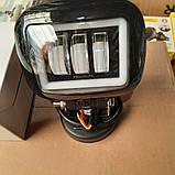 Фара діодна ближнього світла 45W з світлим обідком і СТГ, фото 3