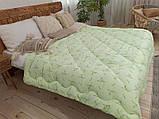Одеяло Бамбук Лелека 172х205. Одеяло двуспальное. Одеяла стеганые. Одеяла. Зимнее одеяло. Одеяло бамбуковое., фото 3
