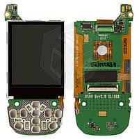 Дисплей (LCD) для Samsung D500/D500E, c платой, оригинал