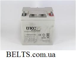 Аккумулятор UKC 12V 24A, гелевая батарея аккумуляторная УКС 12 вольт 24 Ампер