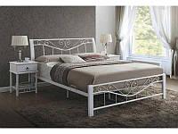 Ліжко двоспальне Parma білий signal