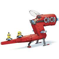 """Конструктор Mega Bloks """"Реактивный самолет Супер Злодея"""", 472 дет"""