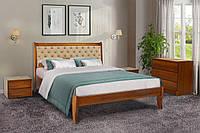 Кровать деревянная Монтана 160 х 200 см орех (Беатрис 03)