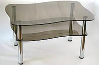 Стеклянные столы готовые и под заказ