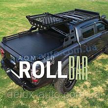 Роллбар с корзиной на пикап Дополнительная корзина Rollbar для ISUZU D-MAX 2011+