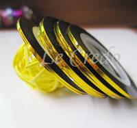 Фольгированная скотч-лента для декора ногтей