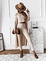 """Стильный костюм-тройка для милых дам """"Ангора"""" Dress Code, фото 1"""