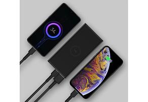 Портативна батарея ZMi Wireless Charging Power Bank 10000 mAh Type-C Black (WPB100), фото 3